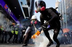 Další z hongkongských protestů