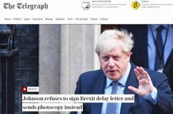 Britská média o dopisu Johnsona