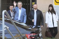 Miloš Zeman opouští nemocnici
