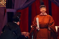 Nový císař Naruhito slavnostně usedl na japonský trůn