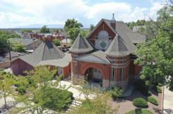 Synagoga v americkém Pueblu