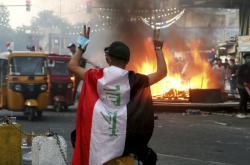 Nepokoje v iráckém Bagdádu