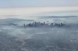 Kouř nad Sydney