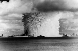 Podvodní exploze atomové pumy