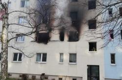 Výbuch v panelovém domě v Blankenburgu