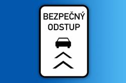 Značka bezpečný odstup