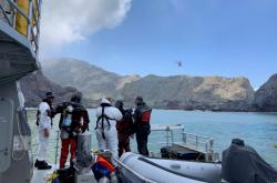 Pátrání po obětech u novozélandského sopečného ostrova