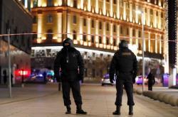 Policisté blízko sídla FSB