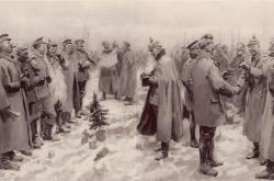 Vánoční příměří 1914, jak ho ukazoval britský tisk