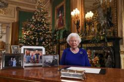 Vánoční projev královny Alžběty II.