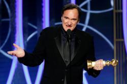 Quentin Tarantino na 77. Zlatých glóbech