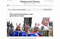 Německý tisk o brexitu