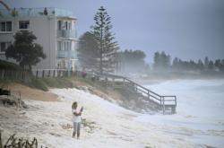 Deštivé počasí v Sydney