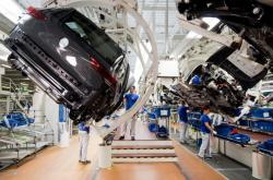 Výroba Volkswagenu Golf