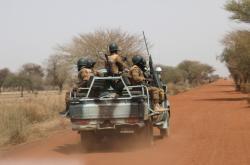 Vojáci v Burkině Faso