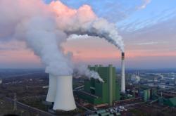 Německá hnědouhelná elektrárna Schkopau
