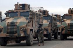 Turecká armáda v Sýrii