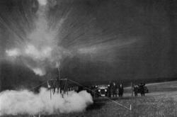 První test rakety v Praze
