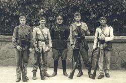 Pavlík se svými vojáky