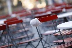 Zavřené restaurace jako symbol pandemie