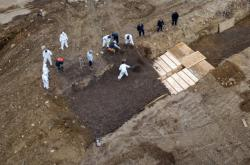 Masový hrob na ostrově Hart v New Yorku