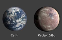 Srovnání nově objevené planety a Země