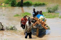 Záplavy v Keni