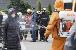 Požár v petrohradské nemocnici