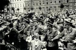 Oslavy vstupu státní smlouvy v platnost (červenec 1955)