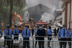 Demolice albánského národního divadla