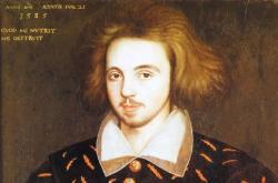 Údajný portrét Christophera Marlowea