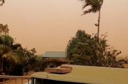 Západní Austrálii postihla silná bouře