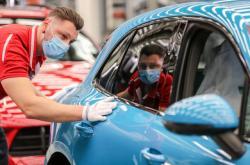 Výroba Porsche Panamera