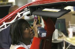 Výroba v automobilce Chrysler