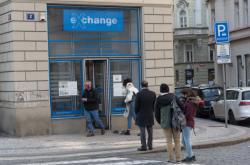 Směnárna v Praze