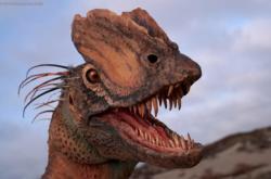 Nejnovější rekonstrukce Dilophosaura