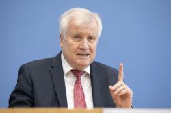 Spolkový ministr vnitra Horst Seehofer