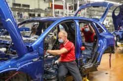 Výroba aut v Porsche v Lipsku