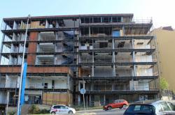 Budova Ústavu pro studium totalitních režimů při rekonstrukci v roce 2018
