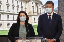 Jana Maláčová a Tomáš Petříček