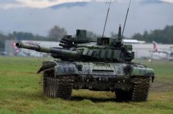 Český tank T-72M4CZ