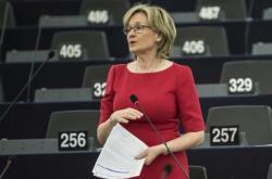 Eurokomisařka pro finanční služby Mairead McGuinnessová