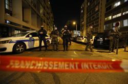 Policie na místě útoku v Lyonu