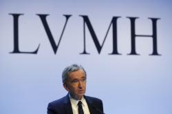 Šéf francouzské skupiny LVMH Bernard Arnault