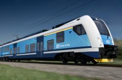 Konsorcium Škoda Transportation a Škoda Vagonka dodá Českým drahám až 60 elektrických jednotek RegioPanter (na vizualizaci)