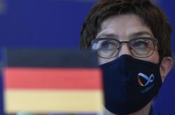 Německá ministryně obrany Annegret Krampová-Karrenbauerová