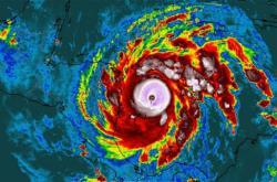 Hurikán lota se stal nejsilnějším hurikánem letošní sezony