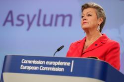 Eurokomisařka pro vnitřní věci Ylva Johanssonová