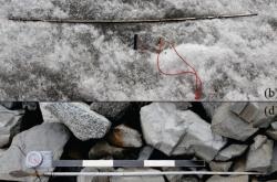 Šípy ukryté v ledovci