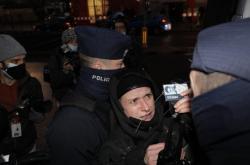 Zadržení novinářsky Agaty Grzybowské